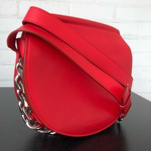 Givenchy Infinity Saddle Bag Red Chain